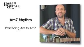 A minor 7 Rhythm