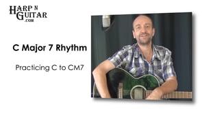 C Major 7 Rhythm
