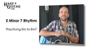E minor 7 Rhythm