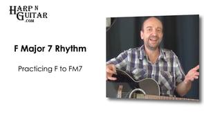 F Major 7 Rhythm
