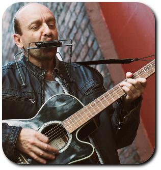 Harp N Guitar instructor George Goodman
