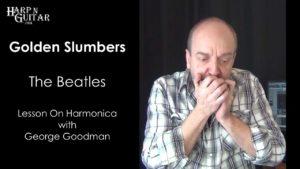 The Beatles Golden Slumbers Melody on Harmonica