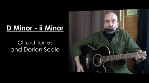 D Minor (ii Minor) Chord Tones and Dorian Mode