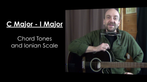 C Major Chord Tones and Ionian Mode