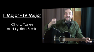 F Major (IV Major) and Lydian Mode