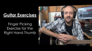 Guitar Exercise - Thumb Picking