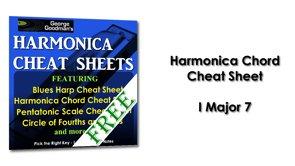 Harmonica Chord I Major 7