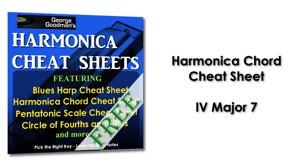 Harmonica Chord IV Major 7