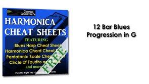 12 Bar Blues Progression For Harmonica