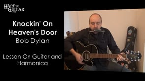 Bob Dylan - Knockin' On Heaven's Door - G Harp