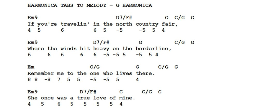 Harmonica u00bb Harmonica Tabs Heart Of Gold - Music Sheets, Tablature, Chords and Lyrics