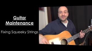 How To Fix Squeeky Strings