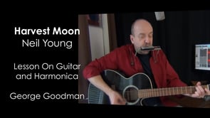 Neil Young - Harvest Moon - G Harp