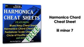 Harmonica Chord iii minor 7