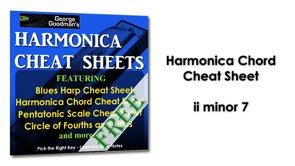 Harmonica Chord ii minor 7