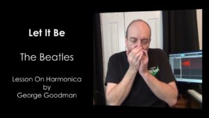 The Beatles Let It Be Melody on Harmonica
