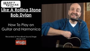 Bob Dylan - Like A Rolling Stone - G Harp