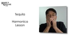 Tequila Riff on Harmonica