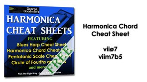 Harmonica Chord vii half diminished 7