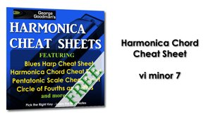 Harmonica Chord vi minor 7