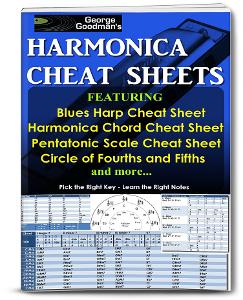 George Goodman's Harmonica Cheat Sheets